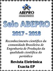 Selo ABEPRO 2017-2018